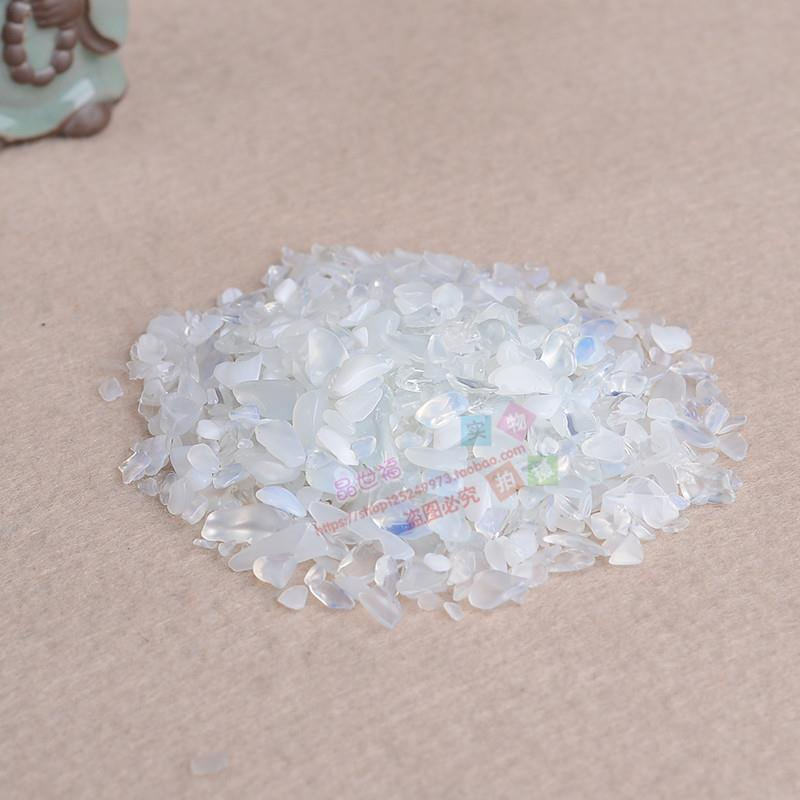 Buddha crystal degaussing natural high quality opal gravel stone original stone shop fish tank crystal pillow package mail