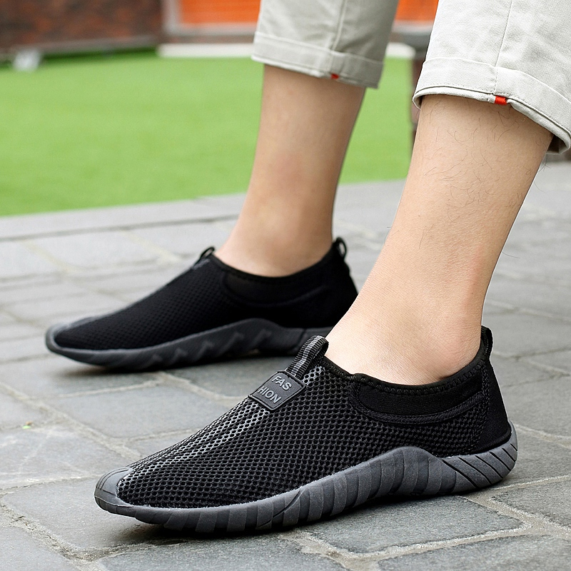 Mesh shoes summer casual shoes mens summer shoes sports shoes mesh shoes mens breathable mesh shoes light shoes fashionable shoes
