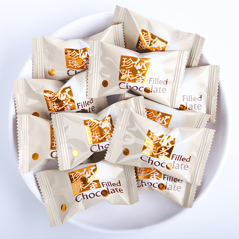 Kehaomai pearl milk tea chocolate flavor popular in Japan net red snack black sugar candy soft candy (instead of cocoa butter)