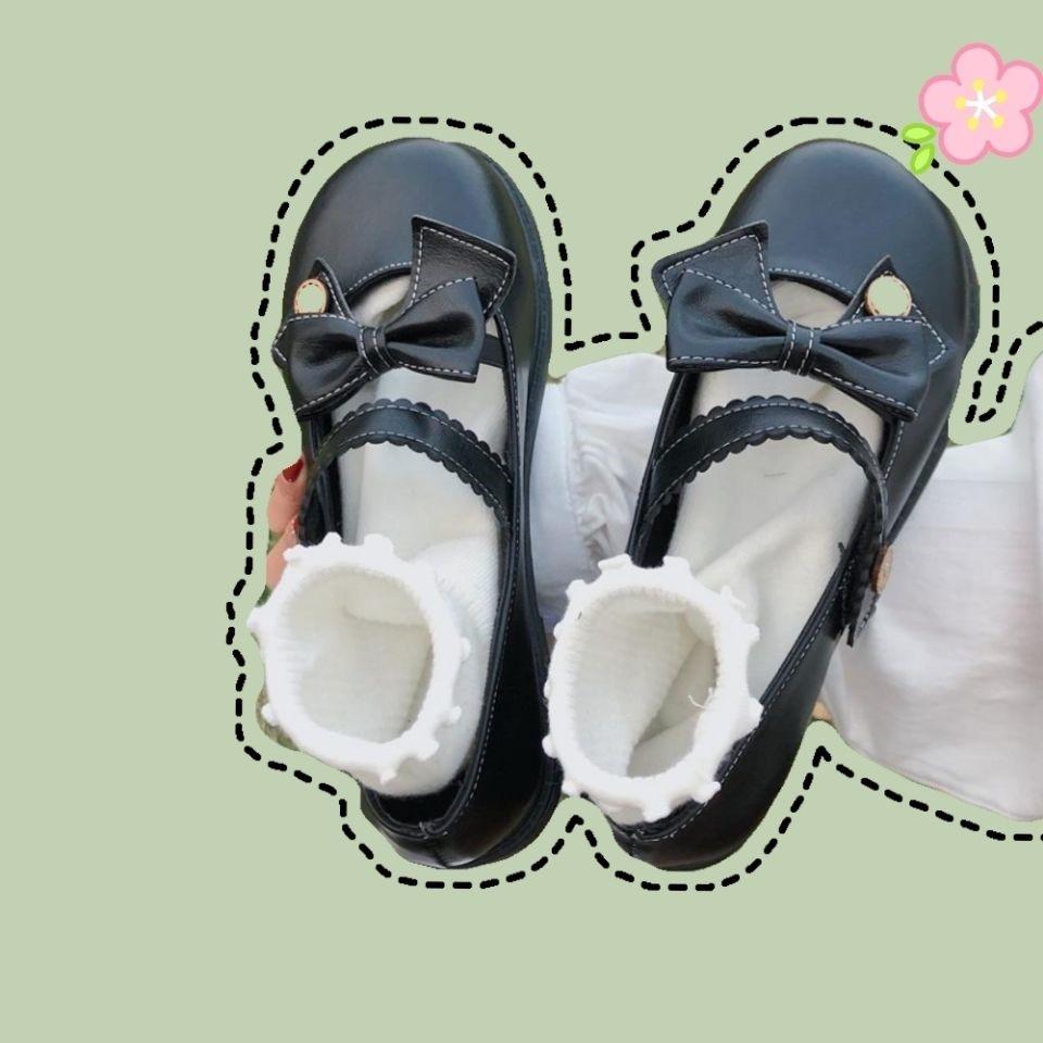 森女日系小皮鞋女韩版百搭洛丽塔JK软妹可爱学生复古单鞋2020春夏