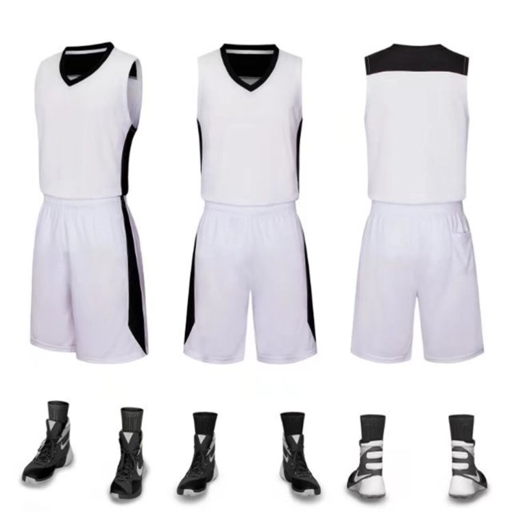 Training clothes, class clothes, shorts, ball pants, youth large size basketball suit, mens short sleeve match clothes, primary school students quick drying