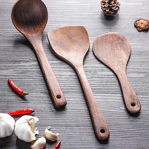 鸡翅木锅铲家用厨房不粘锅专用木质厨具木勺耐高温的木头炒菜铲子