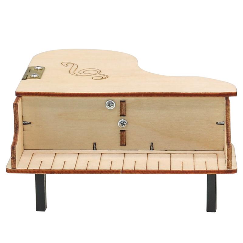 儿童玩具制作趣味盒钢琴八音盒拼装手工手摇音乐学生科技小发明。
