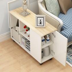 沙发边置物架沙发旁扶手柜清新简易创意简约可移动家用双层现代