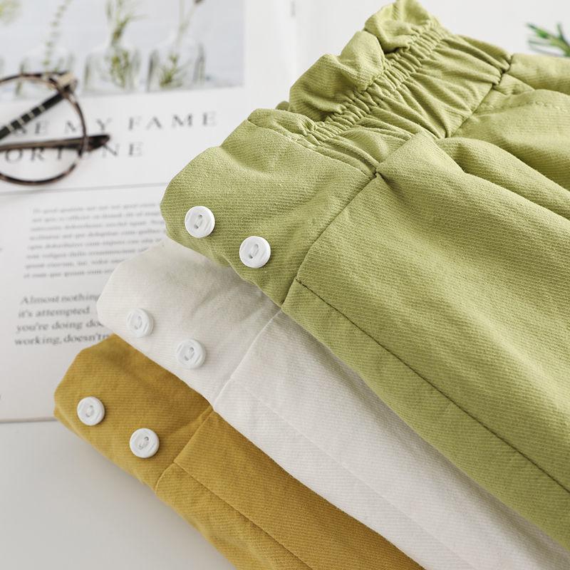 女童短裤夏季2020新款儿童洋气高腰宽松短裤外穿女孩百搭热裤子潮