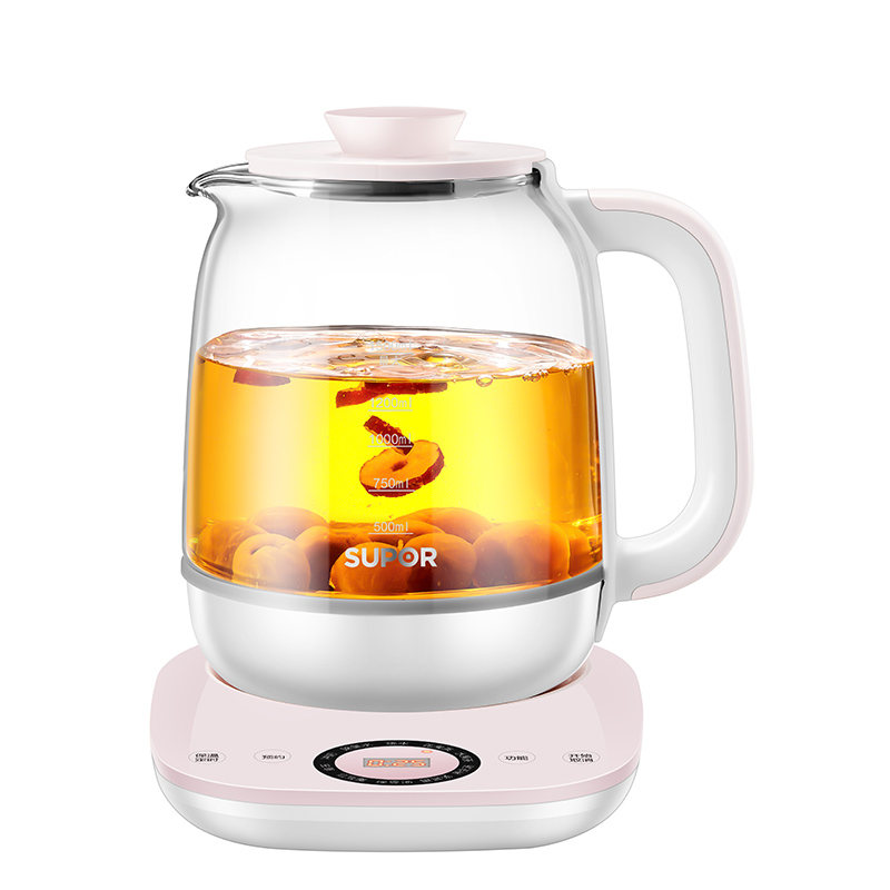 苏泊尔养生壶全自动玻璃多功能花茶壶家用养身煮茶器办公室小型