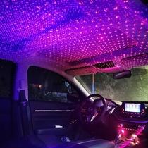 车载星空内星空汽车氛围灯装饰灯日行灯车门灯奔驰迎宾车g内灯氛