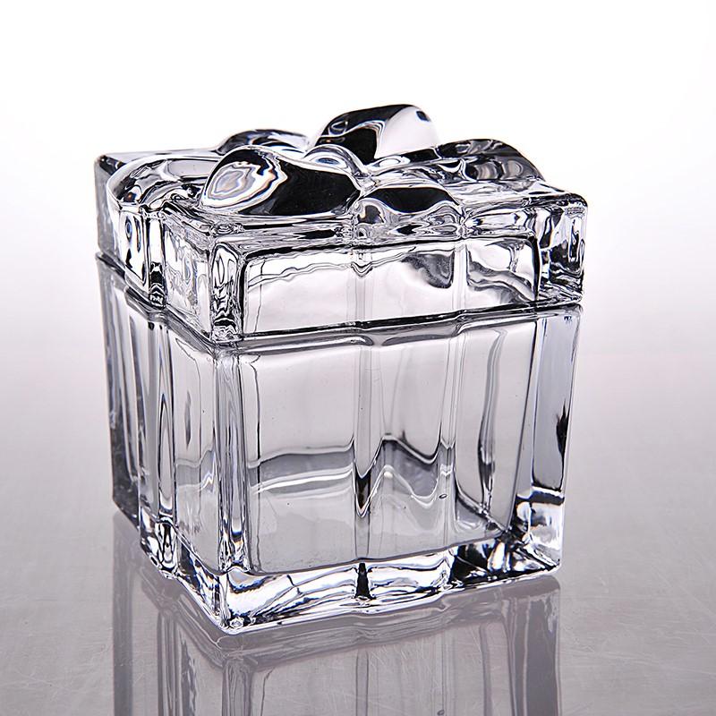 Sugar pot. Sugar vessel jar with sugar belt cover sugar glass European jar white cup European coffee jar
