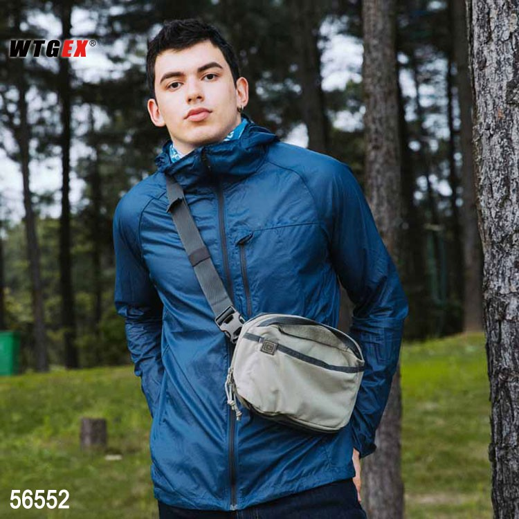 U.S. emergency package outdoor leisure messenger bag portable chest messenger bag waist bag 56552
