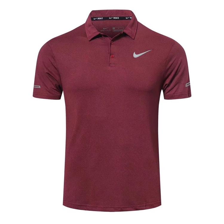 速干高尔夫服装短袖T恤男弹力上衣夏天运动球衫golf薄款男士球衣