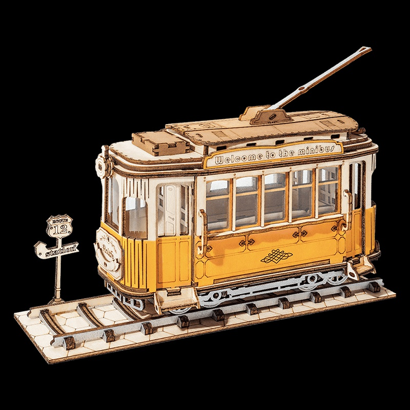 若来拼图立体3d模型成年木质拼装减压diy手工生日礼物玩具