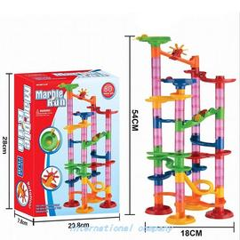 105PCS DIY ConSTRuCTIon MaRBle RaCe Run Maze  TRaCk BuIlDIng图片