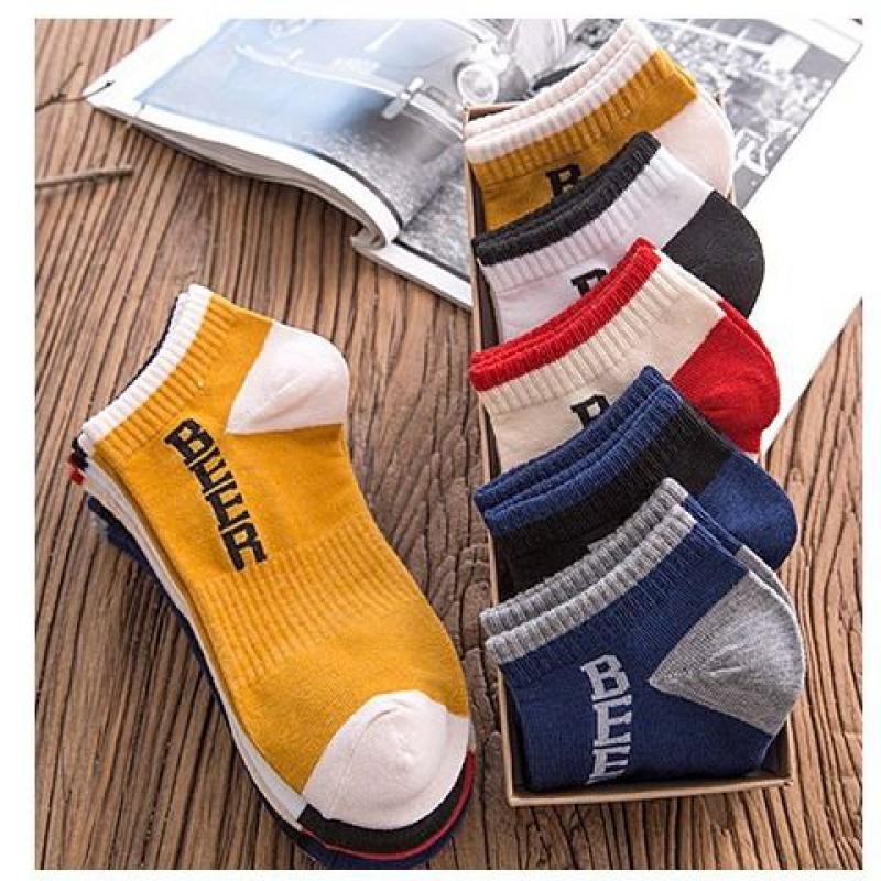 10双袜子男船袜双男士袜子中筒男袜短袜子运动男中筒袜29
