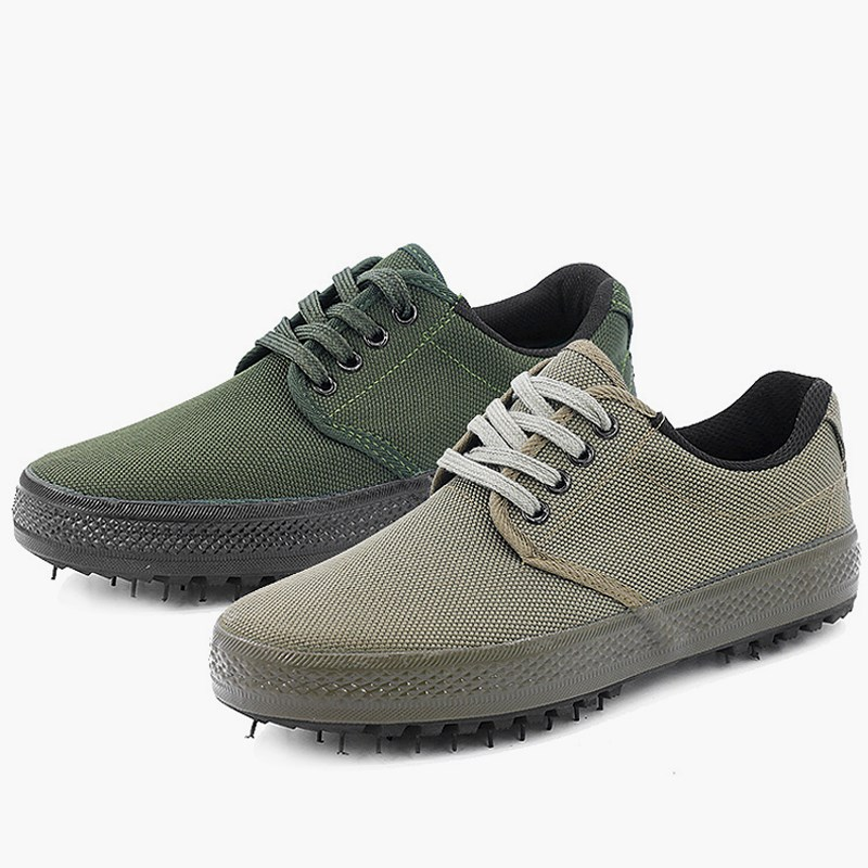 Shanghai Fashion release shoes mens canvas leisure 99 work training shoes anti slip and wear-resistant labor protection shoes
