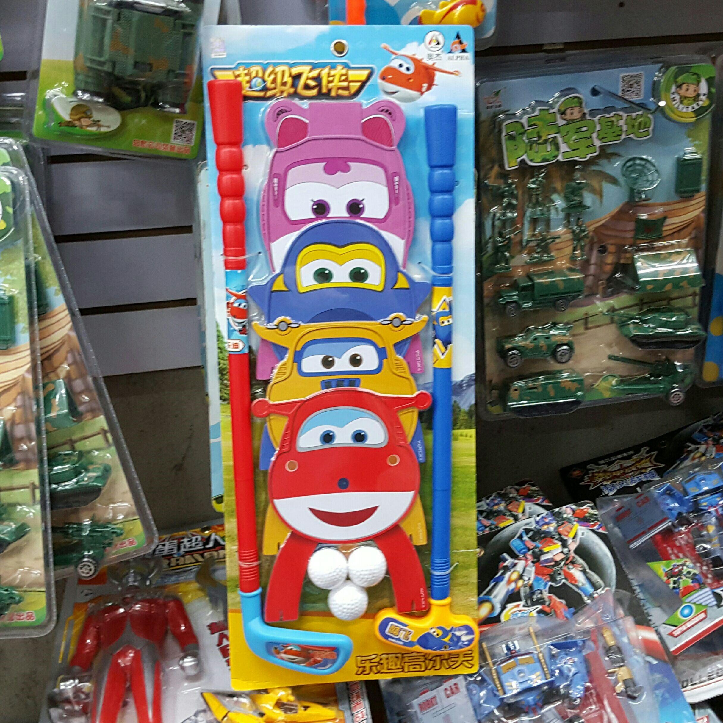 奥杰超级飞侠乐趣高尔夫球儿童球类运动玩具体育用品