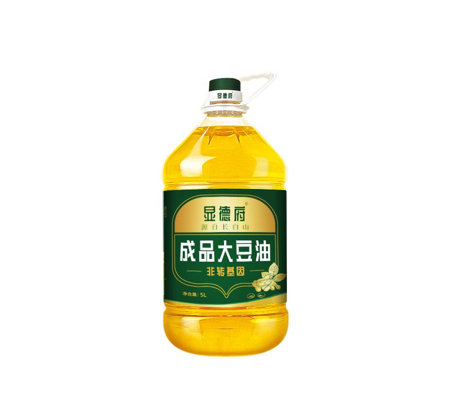 Xiandefu soybean oil refining grade I 5L edible oil