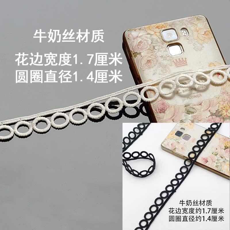 Ring milk silk hollow Lace Necklace Bracelet neckline cuff skirt decoration versatile clothing accessories