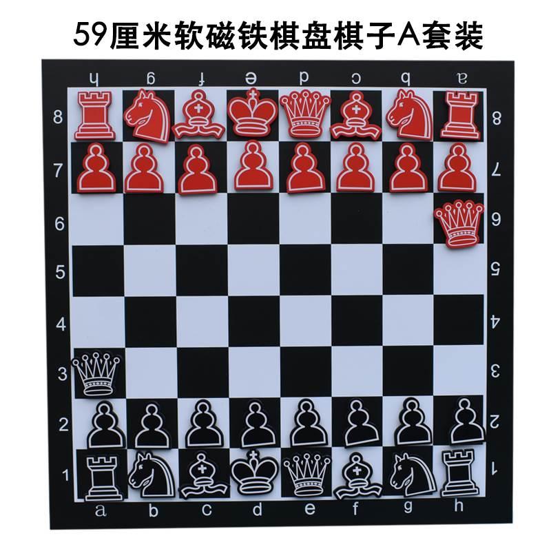 家庭用冷蔵庫にチェスとチェスを貼っています。