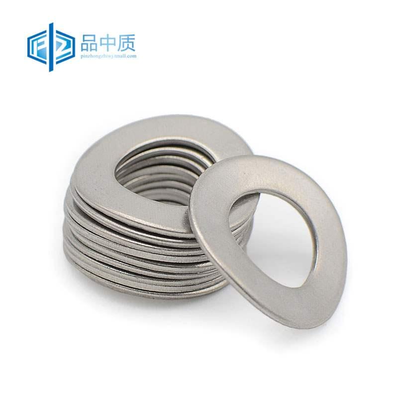 304 stainless steel elastic gasket corrugated gasket saddle elastic gasket saddle gasket corrugated gasket m3-m12