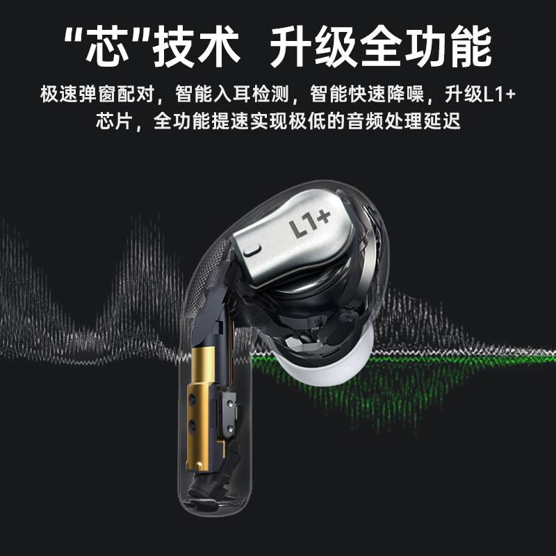 2021年新款真无线双耳蓝牙耳机入耳式降噪运动适用于小米oppo华为vivo安卓iphone苹果2通用3三代二代pro高端