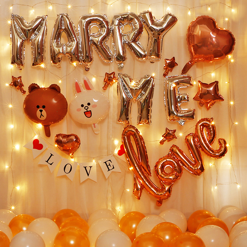 Propose to marry me on Valentines day on Chinese Valentines Day.