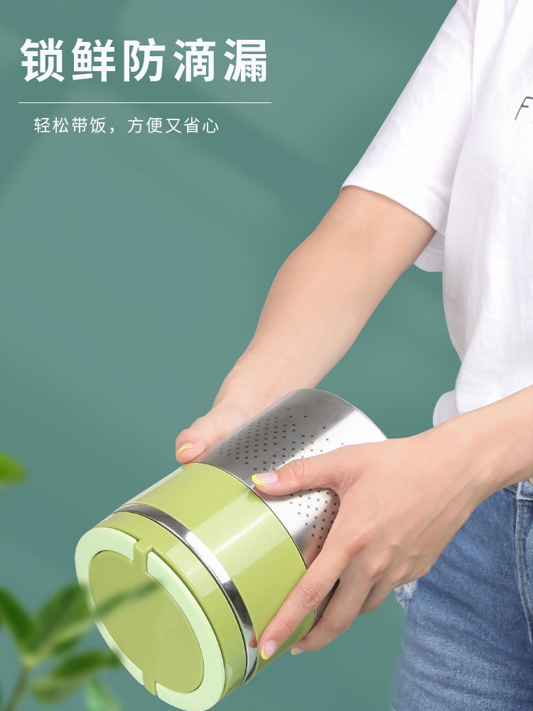 。超长保温桶小型上班族便携1人食学生装汤壶密封碗带粥杯真空饭