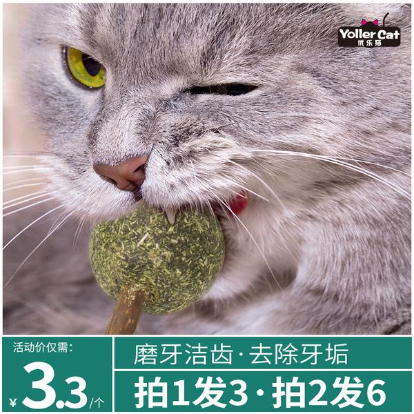 优乐猫 猫薄荷棒棒糖 1支