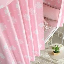 寝室上下铺半遮光布男女生透气防尘顶床幔床围大学生宿舍床帘
