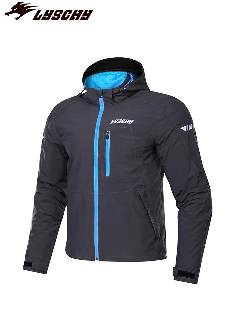 Genuine lychy thunder wing riding suit mens motorcycle autumn and winter leisure fall proof warm waterproof jacket daily commuting