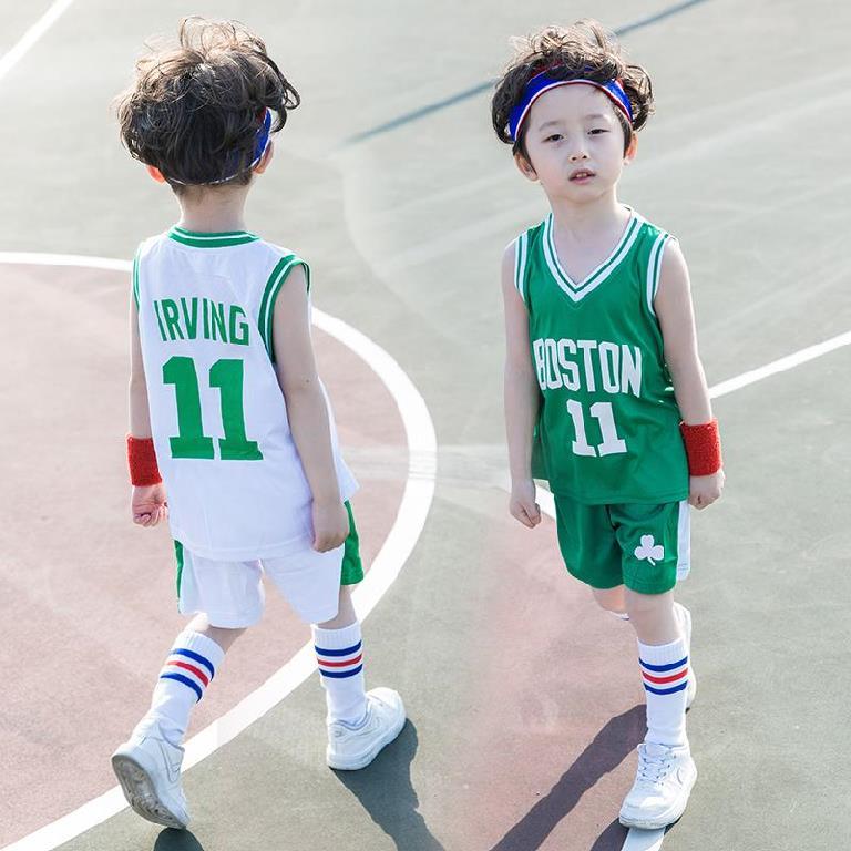 球裤中小学6童服舞台数字1团队服24一套幼儿园小孩小学生球衣套装