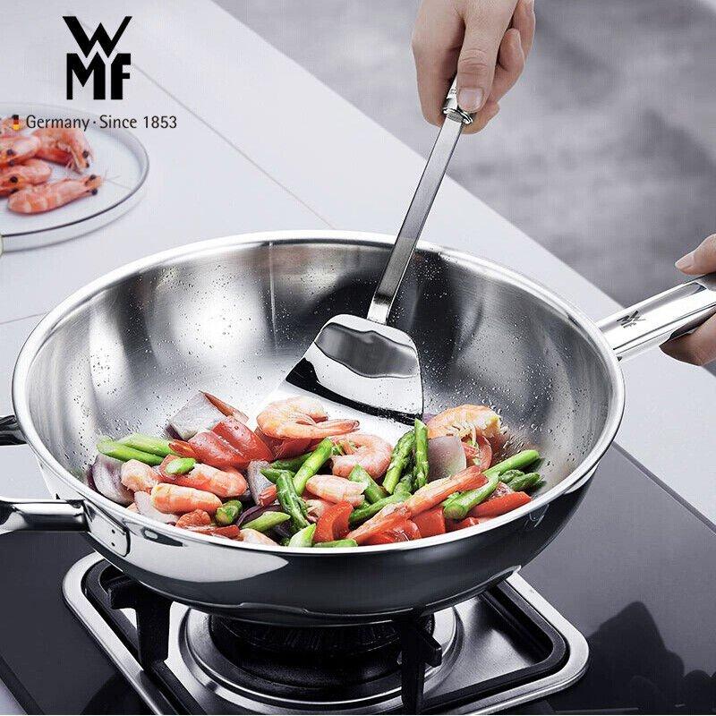 ステンレスの家庭用鍋は中華の炒め物の鍋を備えて厨房を沸き立たせることができます。