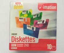 怡敏信 3.5寸软盘1.44m 磁盘 电脑/绣花机纺织机用软盘3.5吋 10张