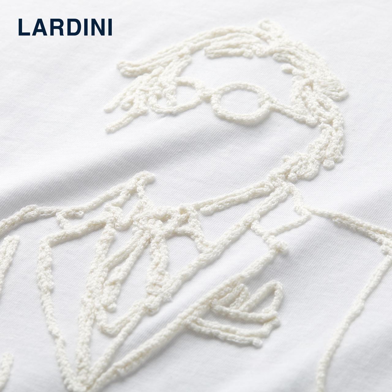 LARDINI 意大利进口 设计师系列人物图案 T恤