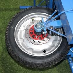 电动鸡公手推车建筑农用独轮带轮园艺爬山拉货田园农村单轮工业搬