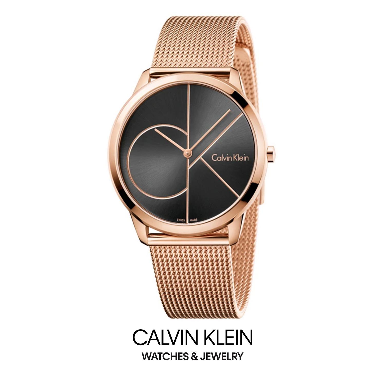 WATCH - 2017 CALVIN KLEIN MINIMAL K3M21621 - CK情侣腕表