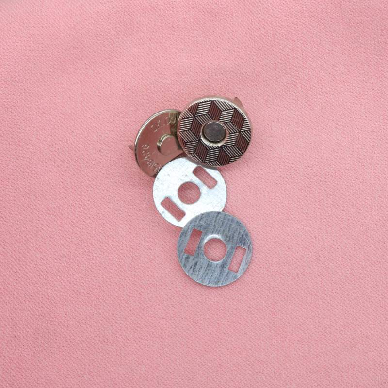 Button Case Bag metal magnetic button bag invisible concealed button no sewn button suction cup wallet button accessories magnet