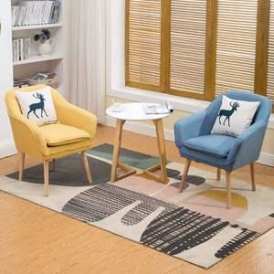 单人卡座组合奶茶店沙发休闲小桌椅