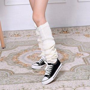 护膝加厚毛线护腿过膝袜套加长加厚保暖老寒腿男女秋冬空调房脚。