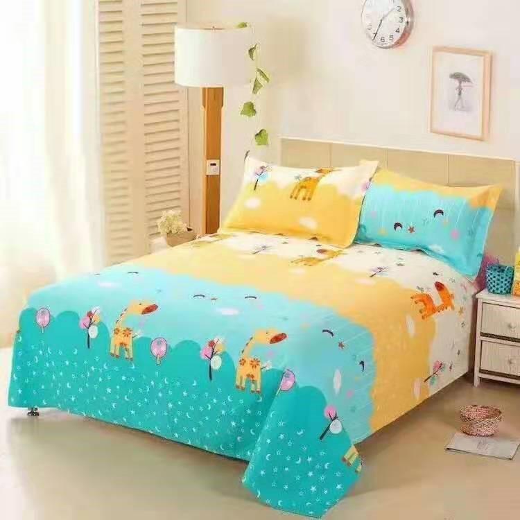 タオバオ仕入れ代行-ibuy99 床上用品 清仓纯棉布料床单被罩床品四件套三件套纯棉床上用品特价卡通