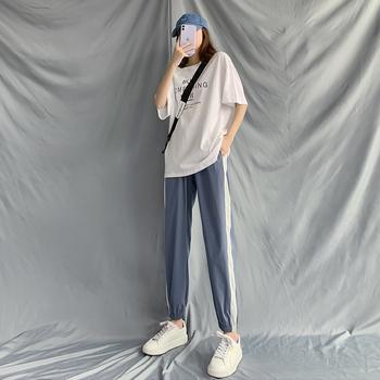 冰丝宽松夏季显瘦百搭2020年运动裤