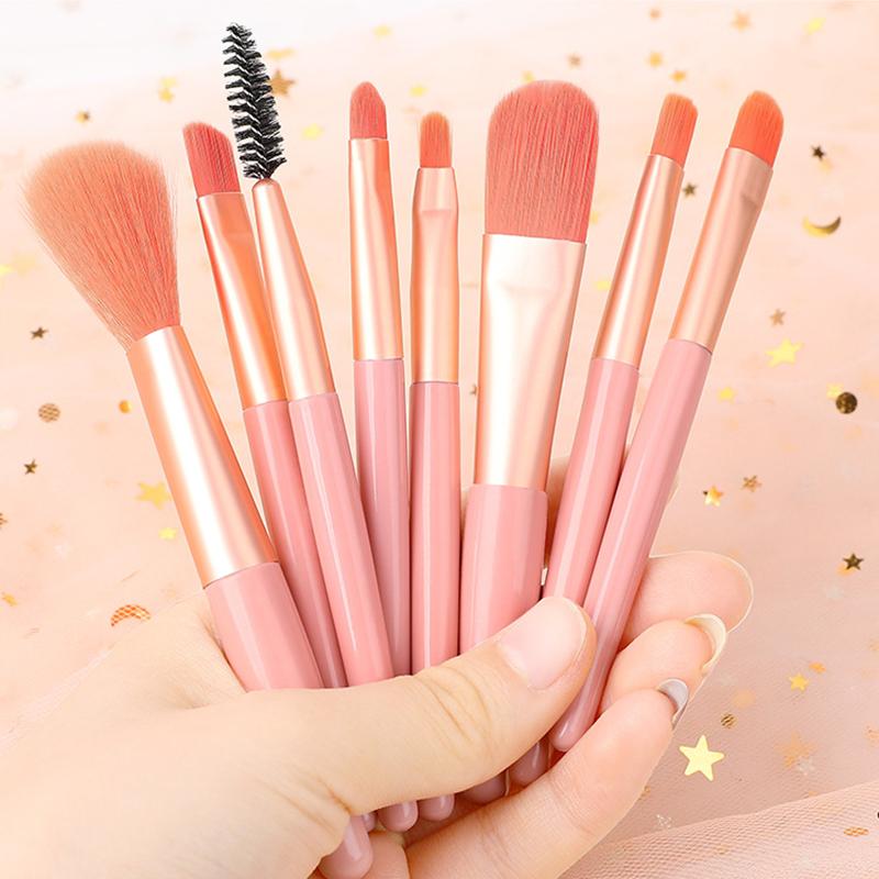 8支刷化妆刷初学者ins逆龄刷子眼影刷腮红刷高光刷全套美妆工具