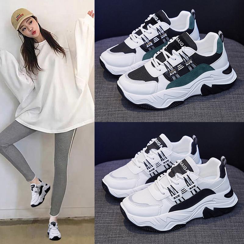 ins老爹鞋女2021春季新款韩版百搭休闲鞋女学生运动鞋增高透气鞋