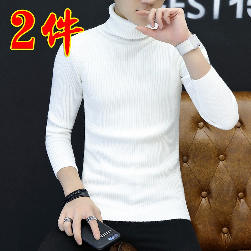 , new winter Style Mens thick cashmere sweater with raglan sleeves and slim half high collar mens warm Pullover Sweater army green