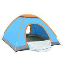 游玩家庭爬山登山帐蓬账篷旅游室外露营情侣简易帐篷户外时尚速开