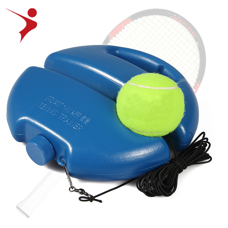 Tennis Trainer with ball single player tennis trainer tennis self-taught rebound player tennis sparring player