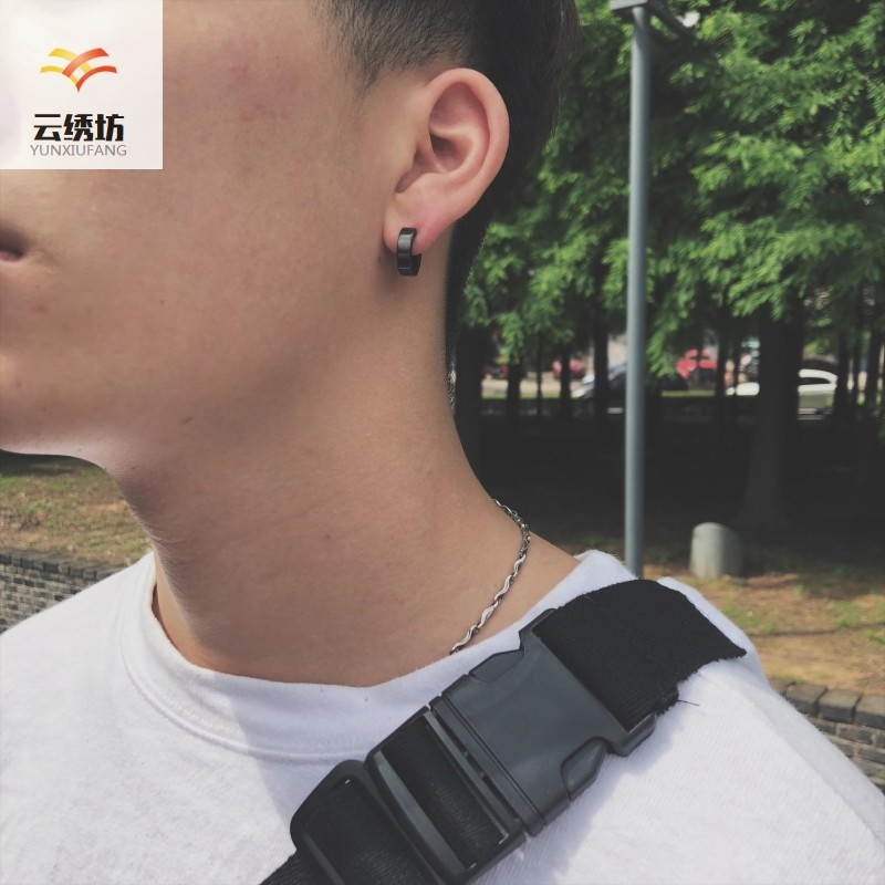 No holes, no earrings, no earrings, no earrings, steel earholes, mens earholes, earrings, earholes, no titanium holes, fashion free