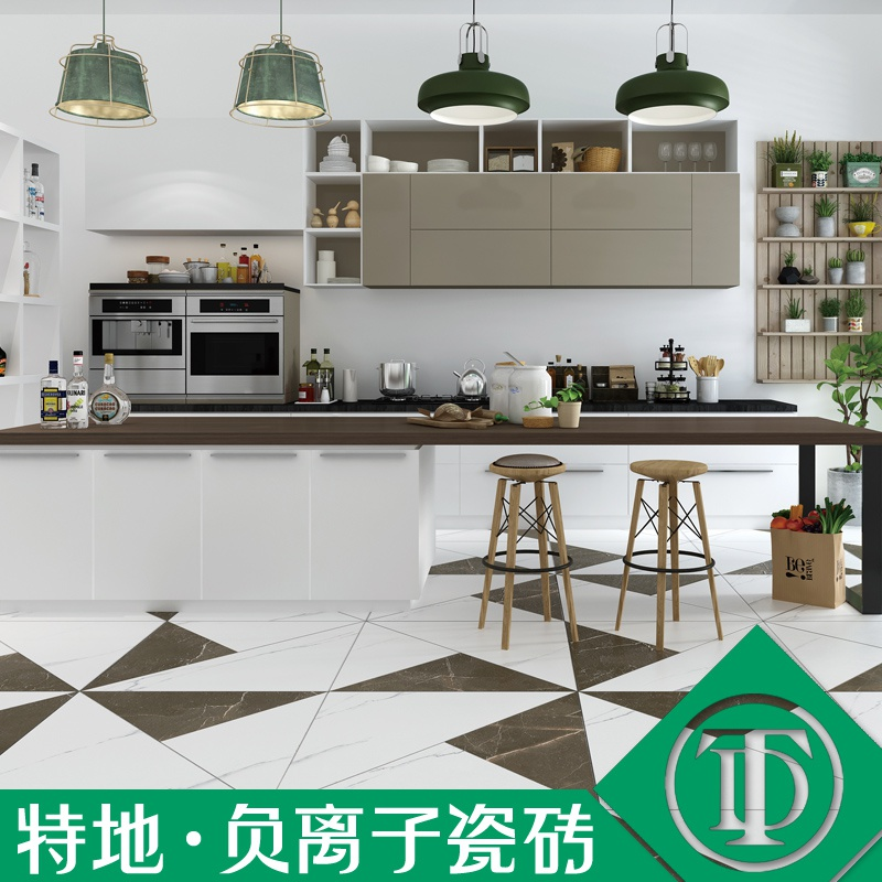 特地 客厅大板600x900大理石瓷砖背景墙卧室地砖釉面砖简约地板砖