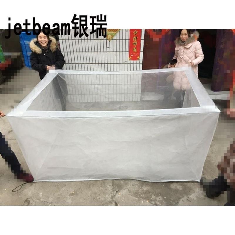 80目网箱网片防逃水蛭龙虾养殖网