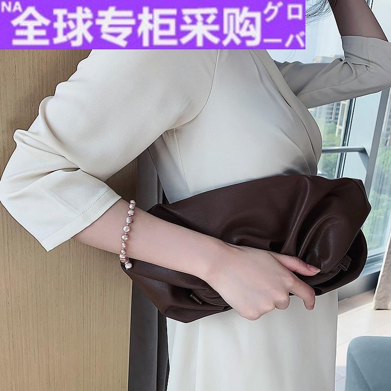 日本HR天然珍珠手链闺蜜二人款韩版简约个性手串女设计手饰手镯