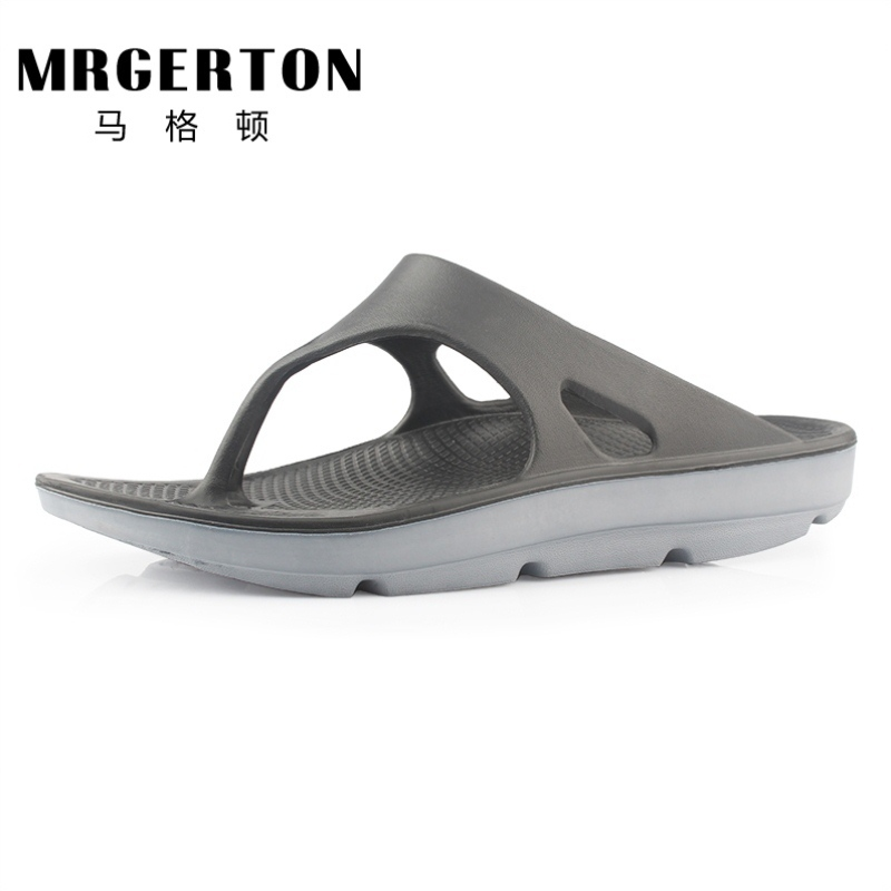 Flip flop mens summer 45 arch support thick sole shock absorption large size 48 antiskid 49 outdoor sports recovery slippers